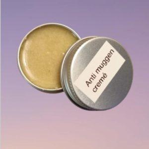Anti muggen crème (productomschrijving klik op de foto)